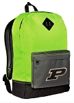 Purdue Backpack Classic Style Fashion Green