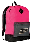 Purdue Backpack HI VISIBILITY Purdue University CLASSIC STYLE For Her Girls Women
