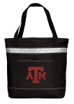 Texas A&M Insulated Tote Bag Black