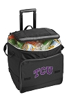 TCU Texas Christian Rolling Cooler Bag