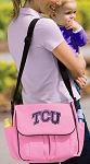 TCU Texas Christian Diaper Bag