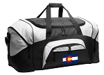 Colorado Flag Duffel Bags or Colorado Gym Bags