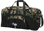 South Carolina Flag Camo Duffel Bags