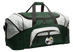 Soccer Fan Duffle Bag Green