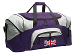 LARGE England British Flag Duffle Bags & Gym Bags