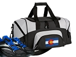 Small Colorado Flag Gym Bag or Small Colorado Duffel