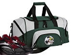 Soccer Fan Small Duffle Bag Green