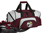 Soccer Fan Small Duffle Bag Maroon