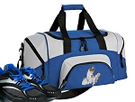 SMALL Cute Cat Gym Bag Kitten Duffle Blue