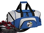 Soccer Fan Small Duffle Bag Royal