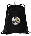 Soccer Fan Drawstring Backpack-MESH & MICROFIBER