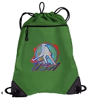 Field Hockey Drawstring Backpack Mesh and Microfiber