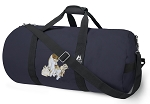 Cute Cats Blue Duffel Bags