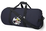 Soccer Fan Blue Duffel Bags