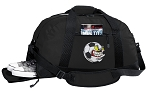 Soccer Fan Duffel Bag with Shoe Pocket