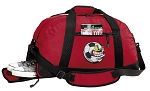 Soccer Fan Duffel Bag with Shoe Pocket Red
