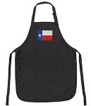 Deluxe Texas Apron Black