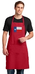 Texas Flag Large Apron Red
