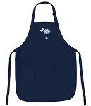 Deluxe South Carolina Apron Navy