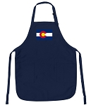 Deluxe Colorado Apron Navy