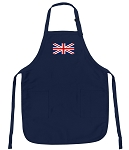 Deluxe United Kingdom Apron Navy