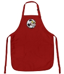 Soccer Fan Apron Red