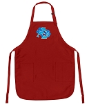 Deluxe Dolphins Apron Red