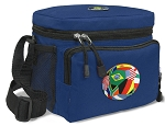 Flag Soccer Ball Lunch Bag World Soccer Lunch Boxes