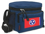 Tennessee Flag Lunch Bag Tennessee Lunchbox Navy