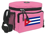 Cuba Lunch Bag Cuban Flag Lunchbox for Girls & Ladies