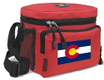 Colorado Flag Lunch Bags Colorado Lunch Totes