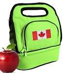 Canada Lunch Bag Green