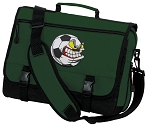 Soccer Fan Messenger Bag Green