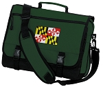 Maryland Messenger Bag Green