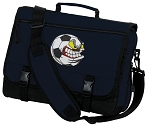 Soccer Fan Messenger Bag Navy
