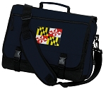Maryland Messenger Bag Navy