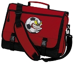 Soccer Fan Messenger Bag Red