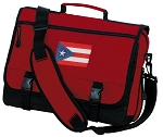 Puerto Rico Messenger Bag Red