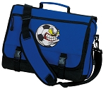 Soccer Fan Messenger Bag Royal