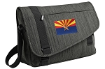 Arizona Messenger Laptop Bag Stylish Charcoal