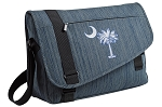South Carolina Messenger Laptop Bag Stylish Navy
