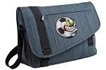 Soccer Fan Messenger Laptop Bag Stylish Navy