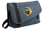 Soccer Messenger Laptop Bag Stylish Navy