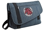 Horse Messenger Laptop Bag Stylish Navy