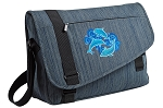 Dolphins Lover Messenger Laptop Bag Stylish Navy