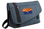 Arizona Messenger Laptop Bag Stylish Navy