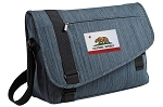 California Flag Messenger Laptop Bag Stylish Navy