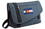 Colorado Messenger Laptop Bag Stylish Navy