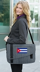 Cuba Messenger Laptop Bag Stylish Navy
