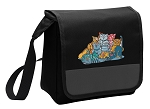 Crazy Cat Lunch Bag Cooler Black